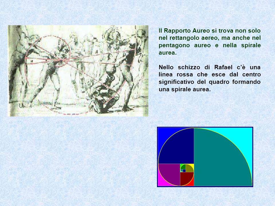 Il Rapporto Aureo si trova non solo nel rettangolo aereo, ma anche nel pentagono aureo e nella spirale aurea.