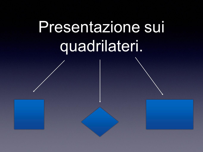 Presentazione sui quadrilateri.