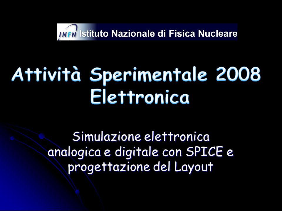 Attività Sperimentale 2008 Elettronica