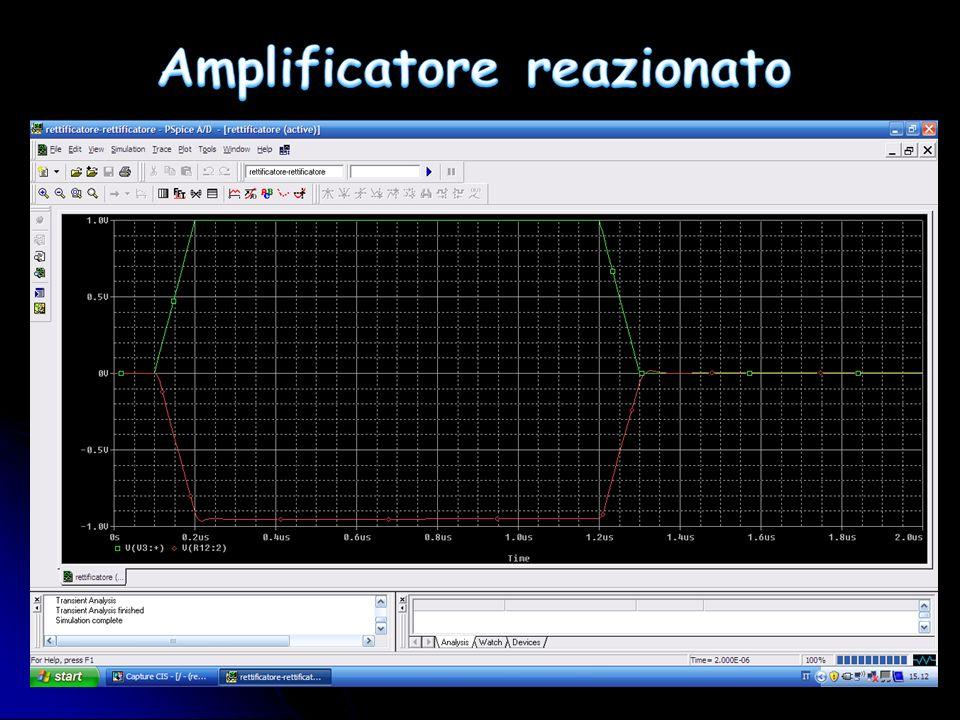 Amplificatore reazionato