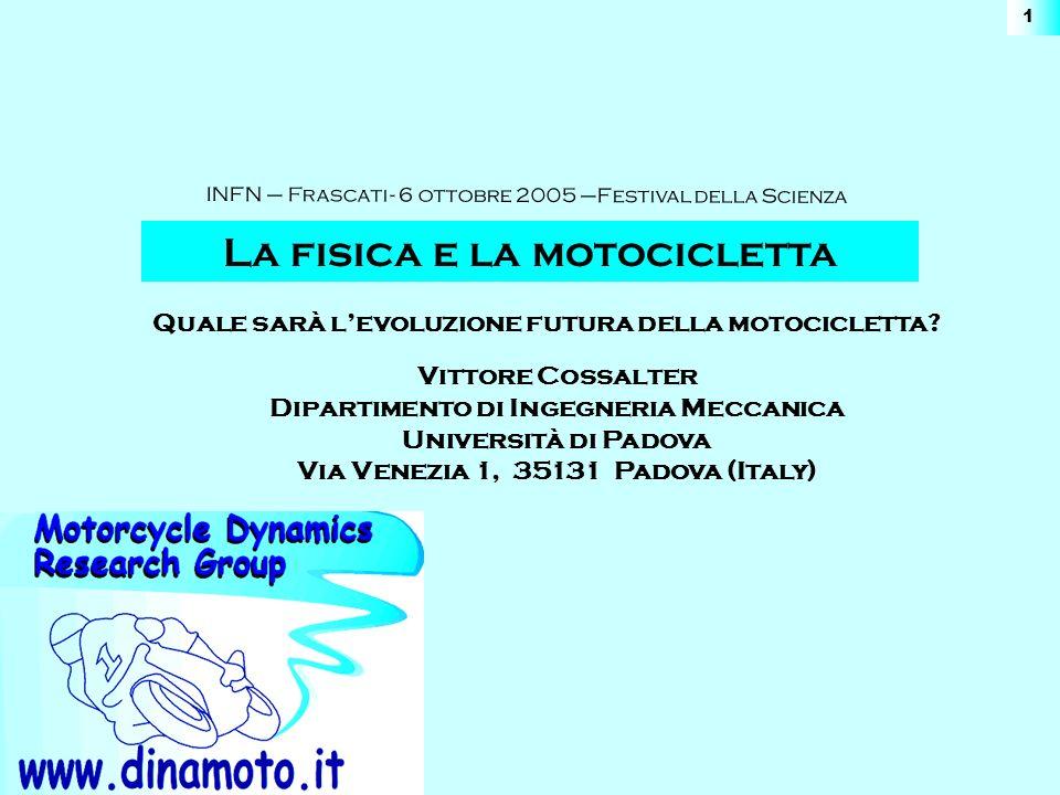 La fisica e la motocicletta