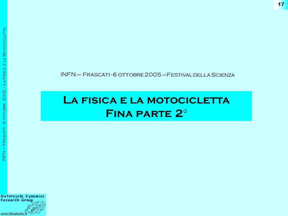 La fisica e la motocicletta Fina parte 2°