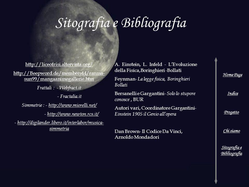 Sitografia e Bibliografia
