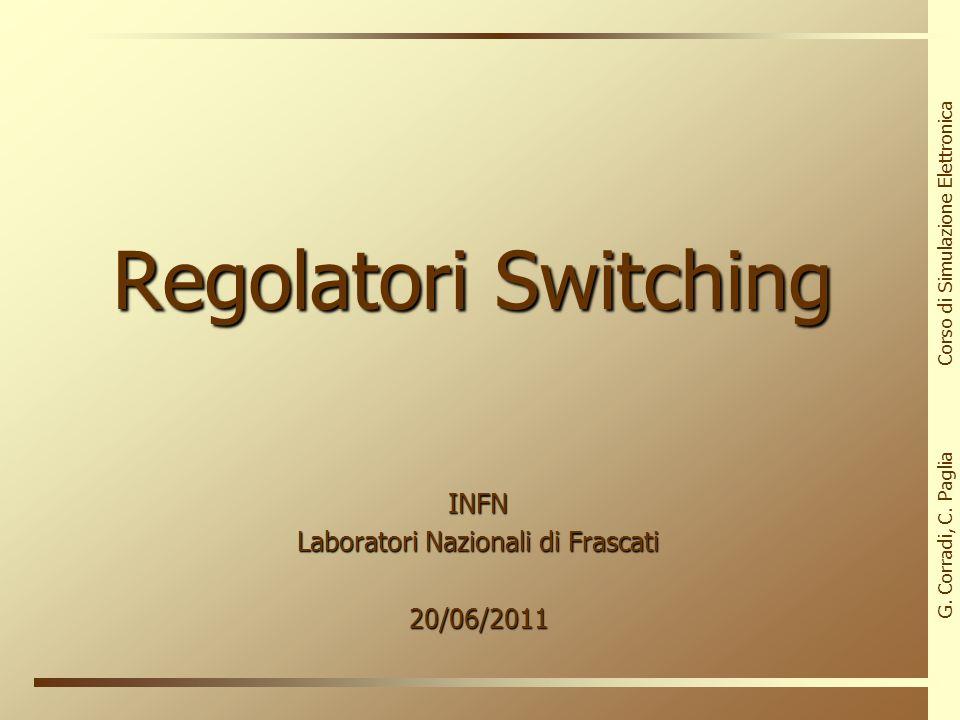 INFN Laboratori Nazionali di Frascati 20/06/2011
