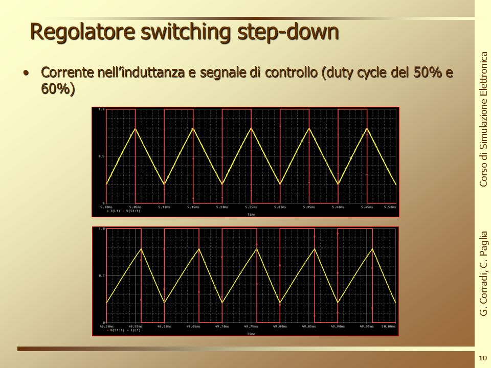 Regolatore switching step-down