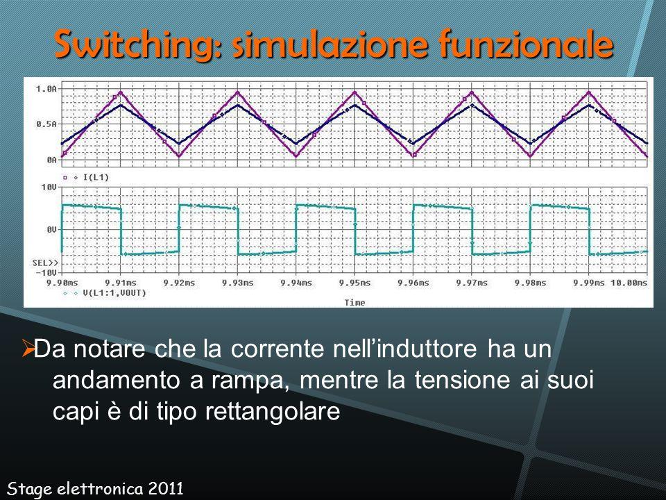 Switching: simulazione funzionale