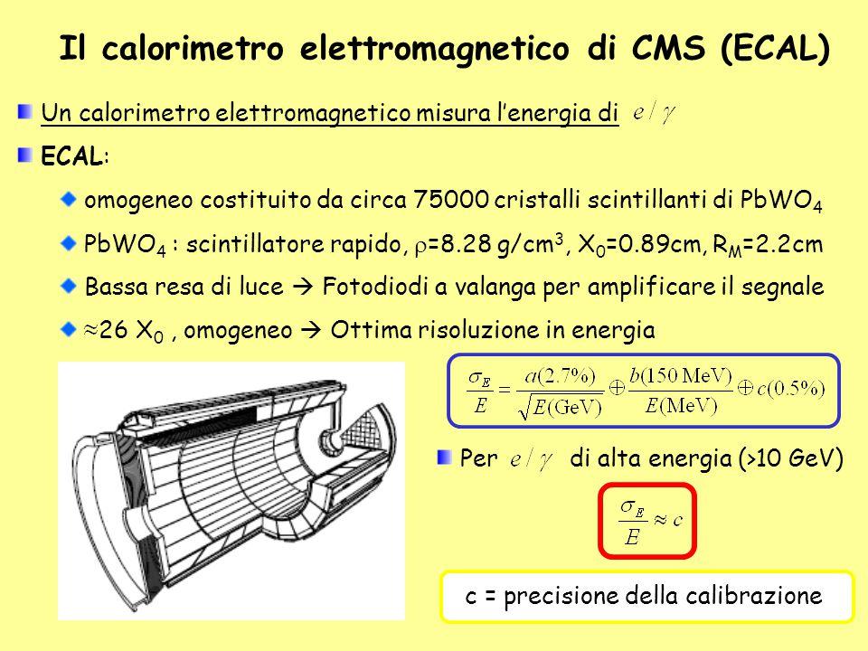 Il calorimetro elettromagnetico di CMS (ECAL)