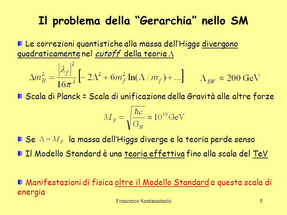 Il problema della Gerarchia nello SM