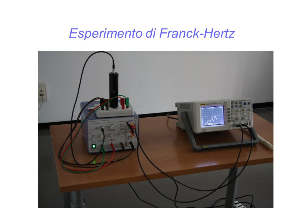Esperimento di Franck-Hertz