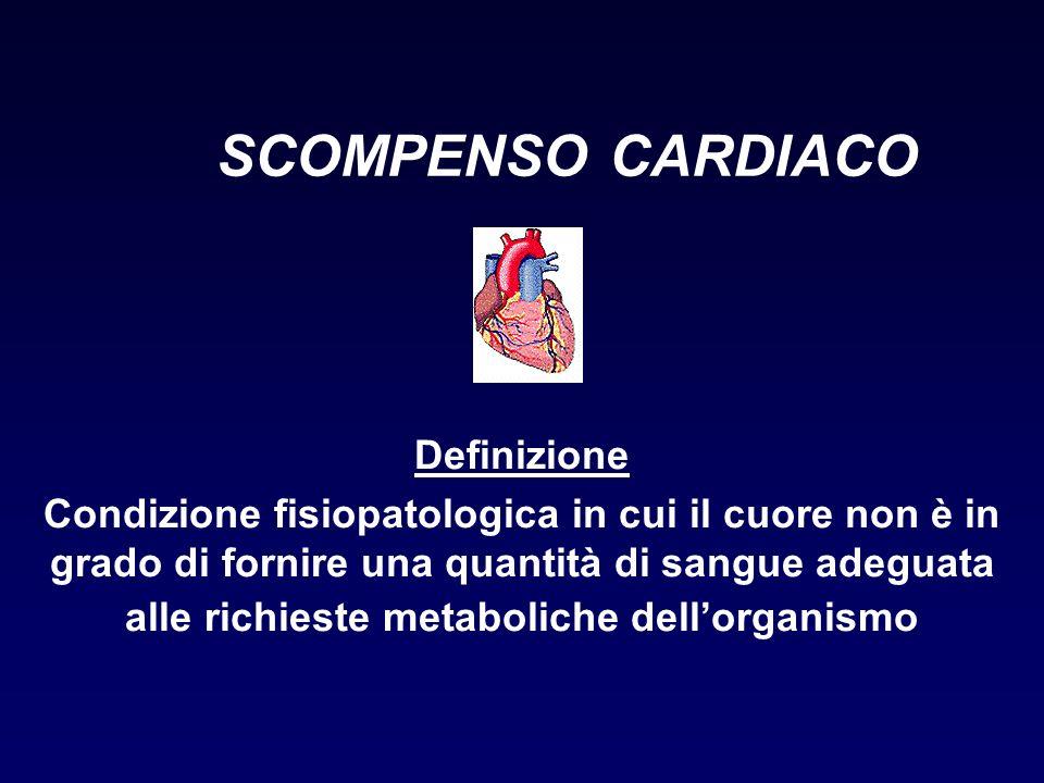 SCOMPENSO CARDIACO Definizione