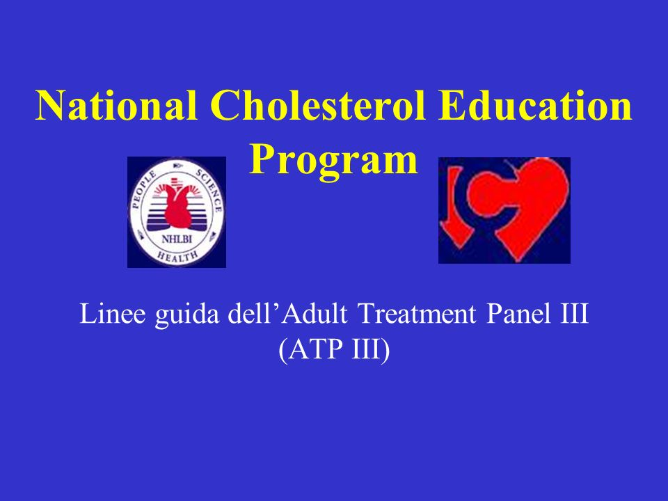 Linee guida dell'Adult Treatment Panel III (ATP III)