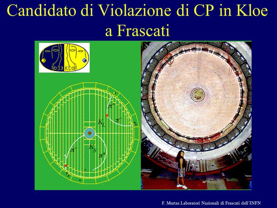 Candidato di Violazione di CP in Kloe a Frascati