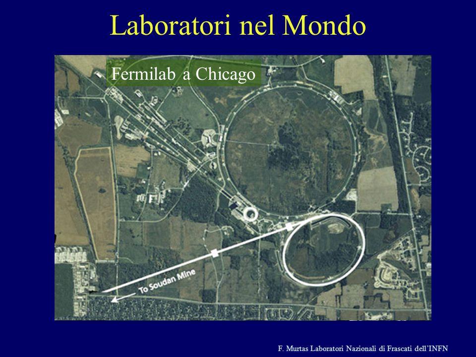 Laboratori nel Mondo Fermilab a Chicago KEK a Tsukuba in Giappone