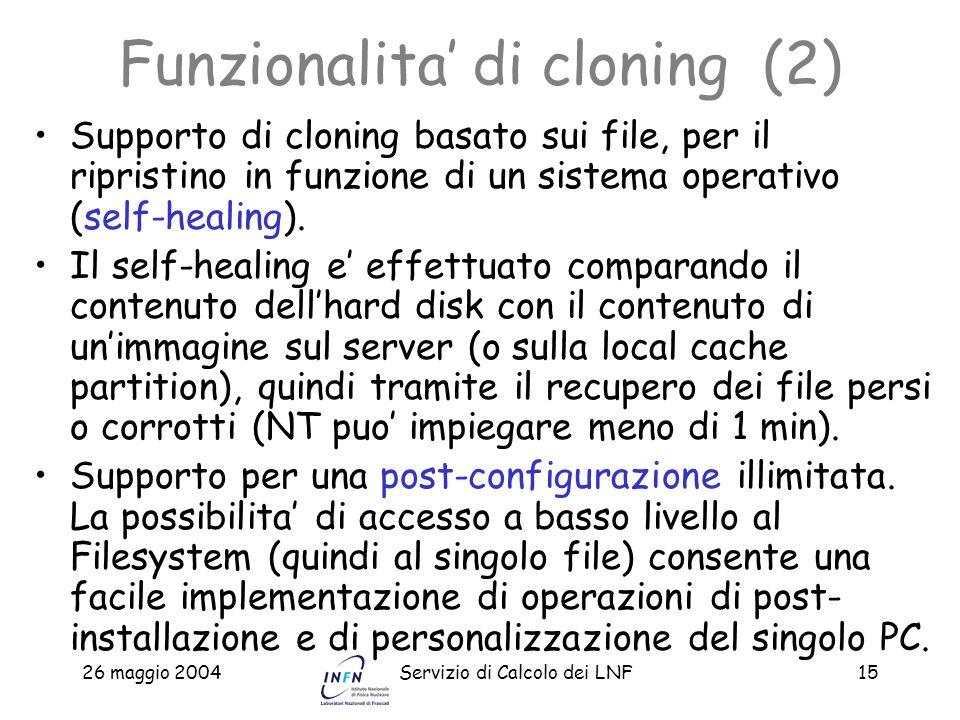 Funzionalita' di cloning (2)