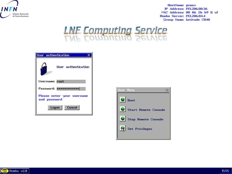 26 maggio 2004 Servizio di Calcolo dei LNF