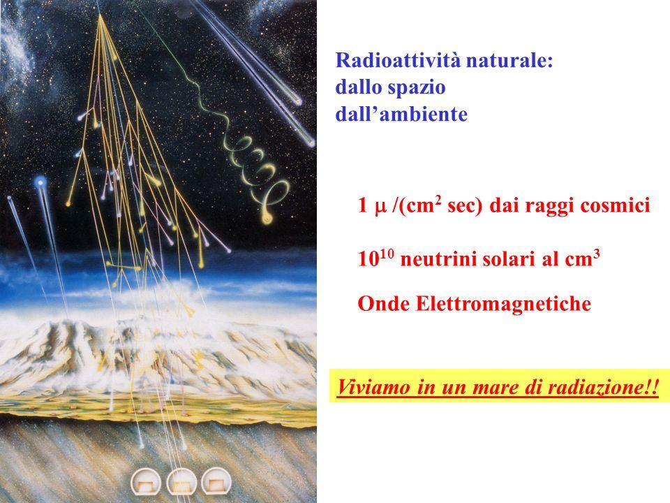 Radioattività naturale: