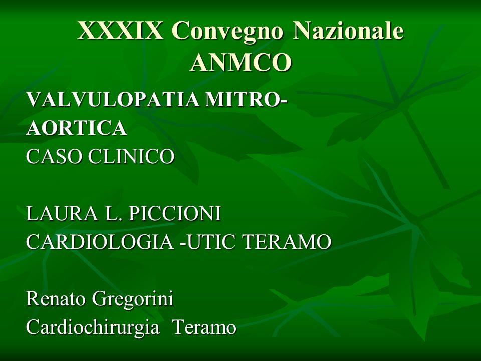 XXXIX Convegno Nazionale ANMCO
