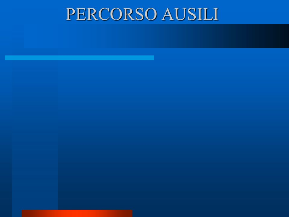 PERCORSO AUSILI