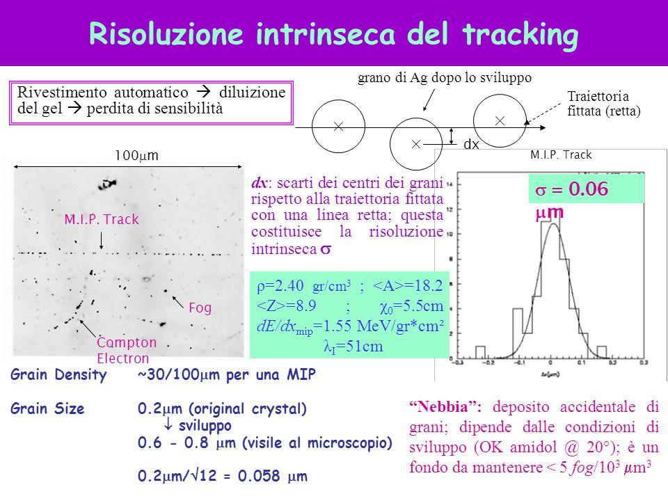 Risoluzione intrinseca del tracking
