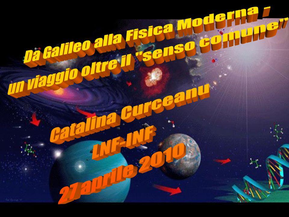 Da Galileo alla Fisica Moderna - un viaggio oltre il senso comune