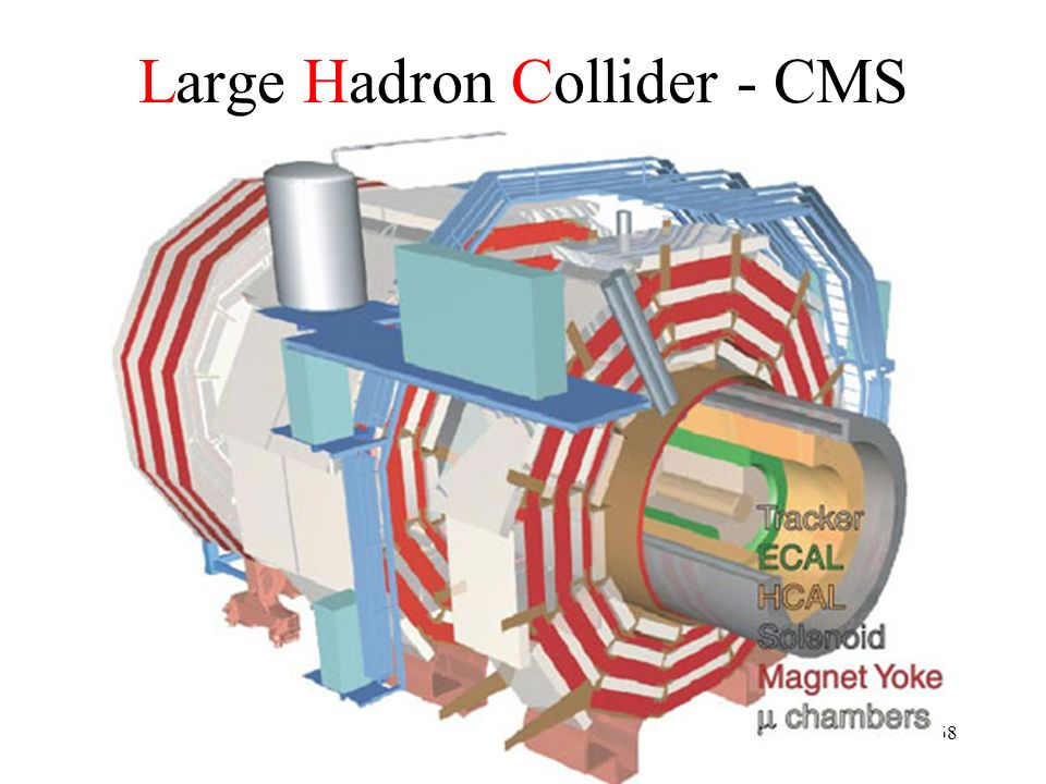 Large Hadron Collider - CMS