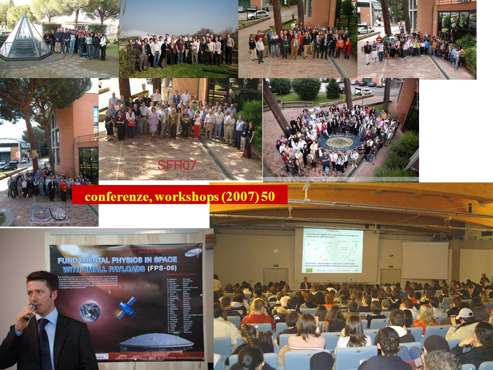 conferenze, workshops (2007) 50