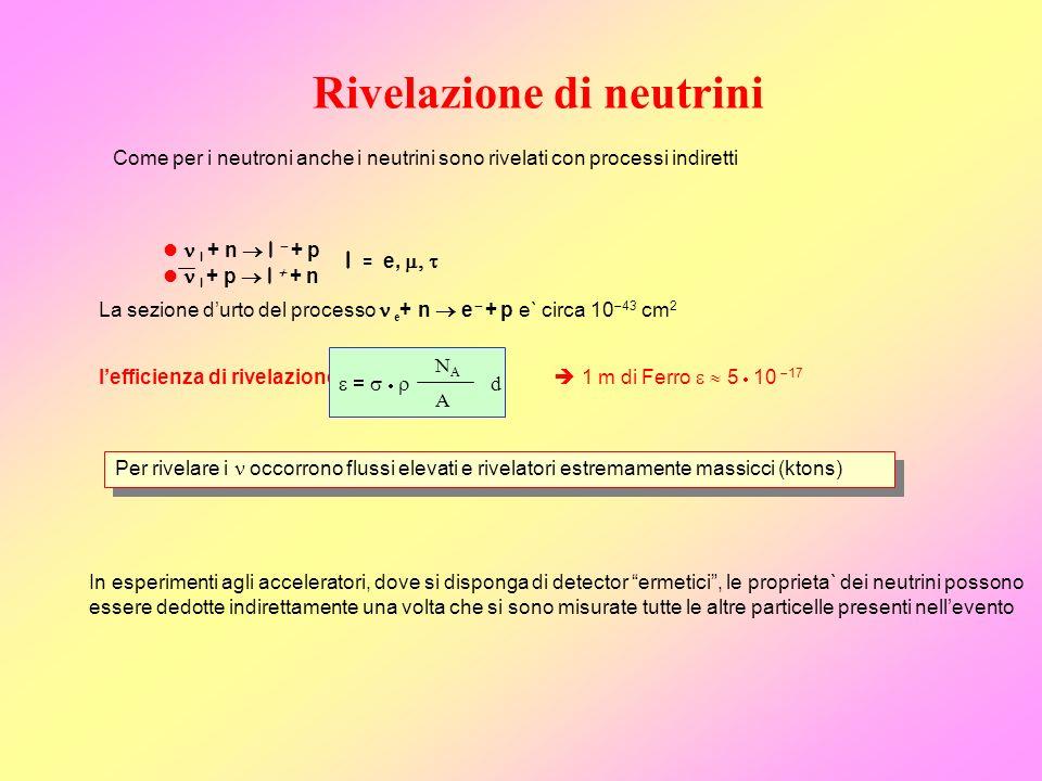 Rivelazione di neutrini