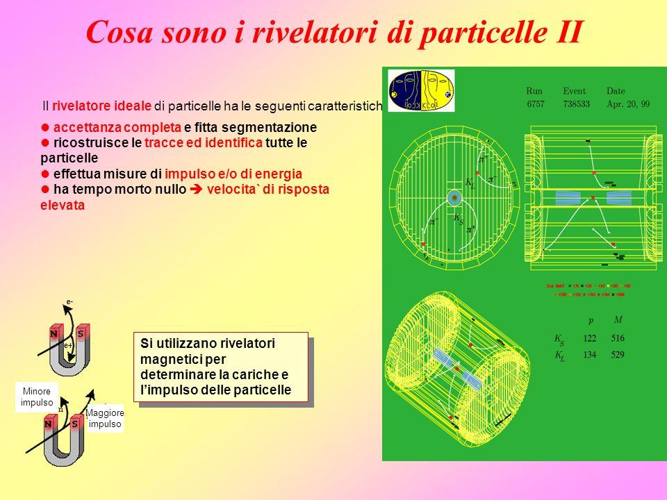 Cosa sono i rivelatori di particelle II