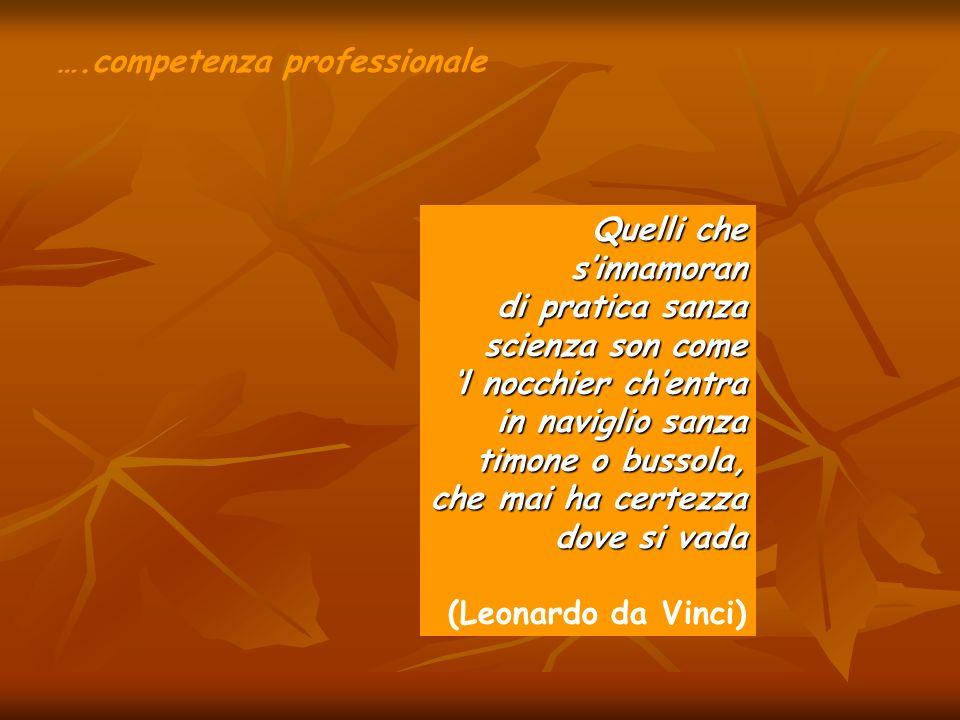….competenza professionale