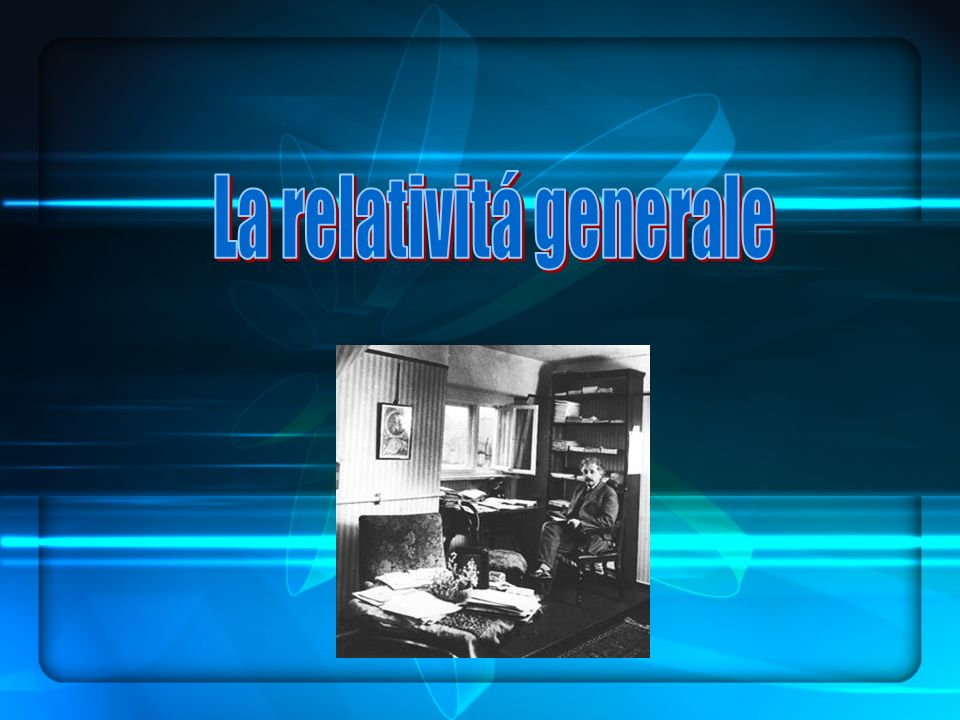 La relativitá generale