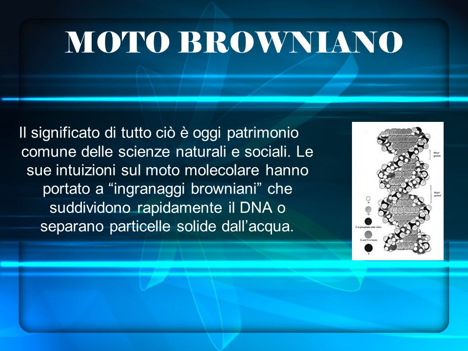 MOTO BROWNIANO