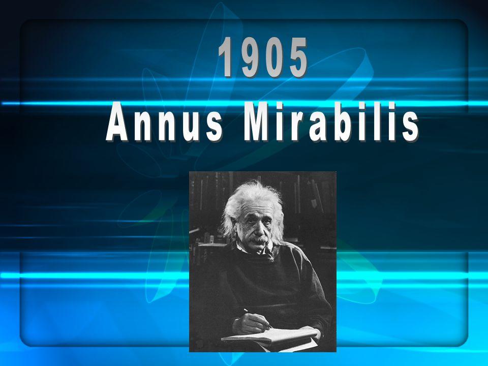 1905 Annus Mirabilis