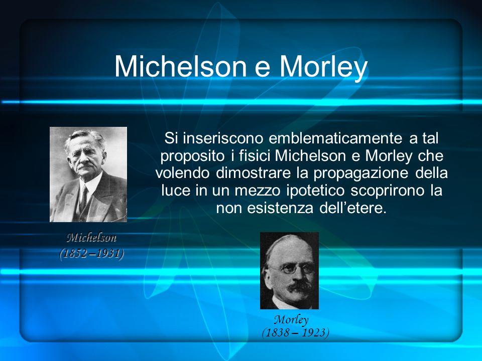Michelson e Morley