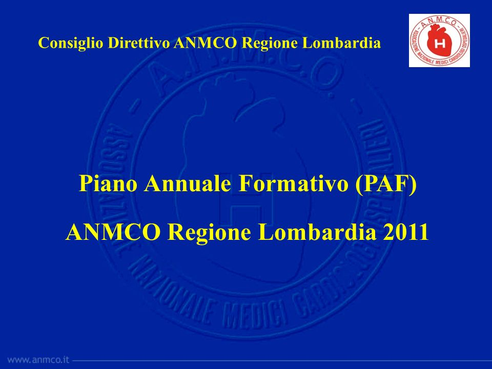 Piano Annuale Formativo (PAF)