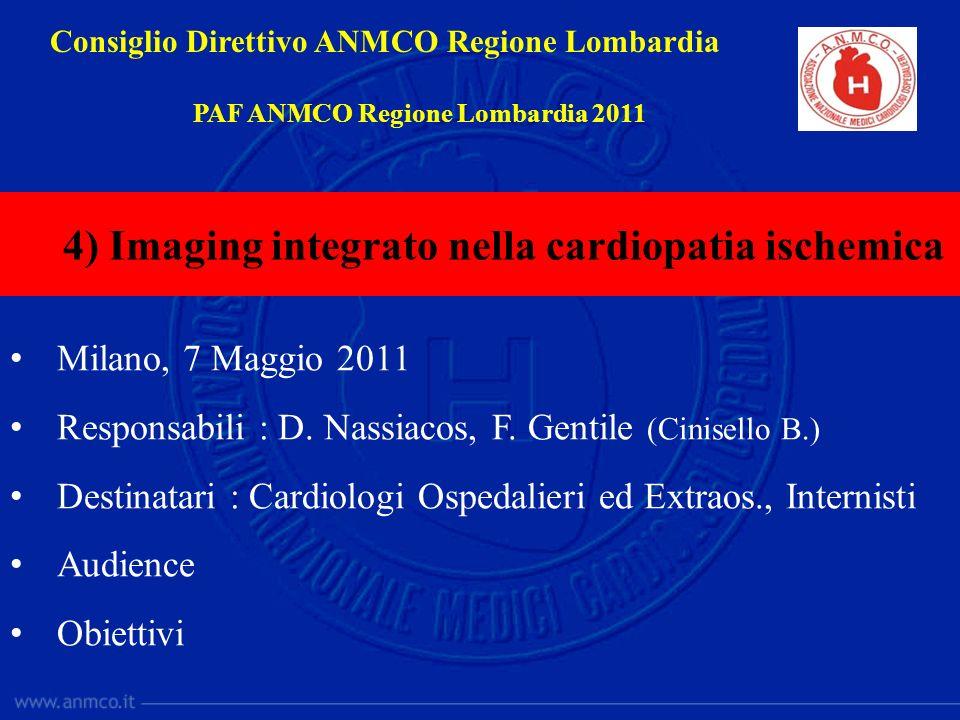 4) Imaging integrato nella cardiopatia ischemica