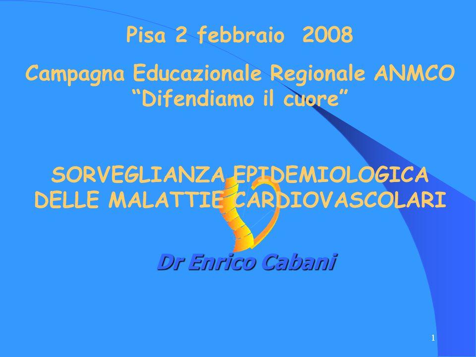 Campagna Educazionale Regionale ANMCO Difendiamo il cuore