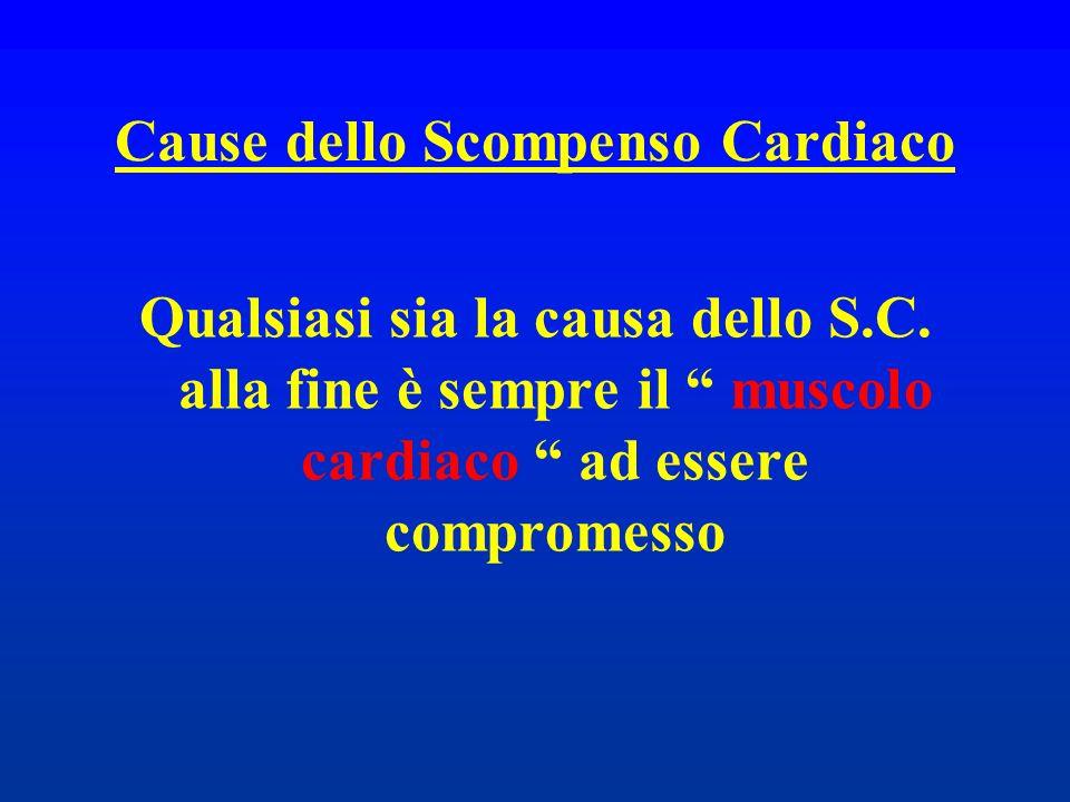 Cause dello Scompenso Cardiaco