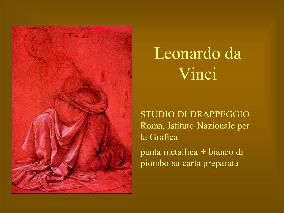 Leonardo da Vinci STUDIO DI DRAPPEGGIO