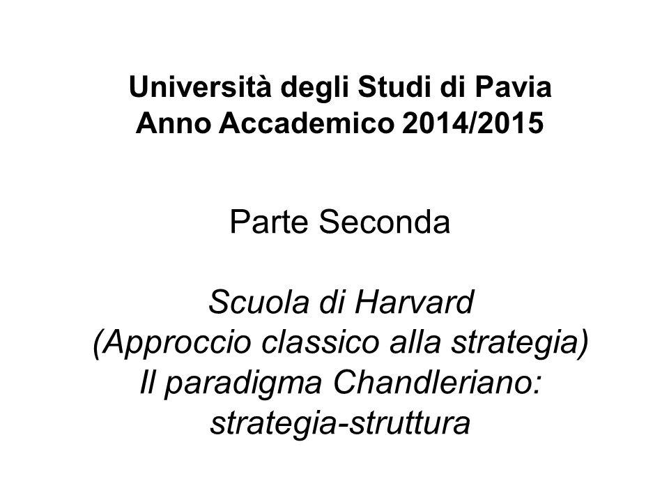 Università degli Studi di Pavia Anno Accademico 2014/2015