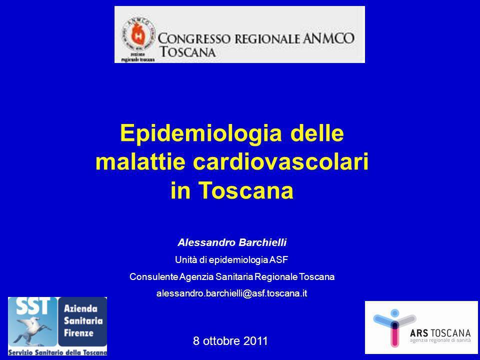 Epidemiologia delle malattie cardiovascolari in Toscana