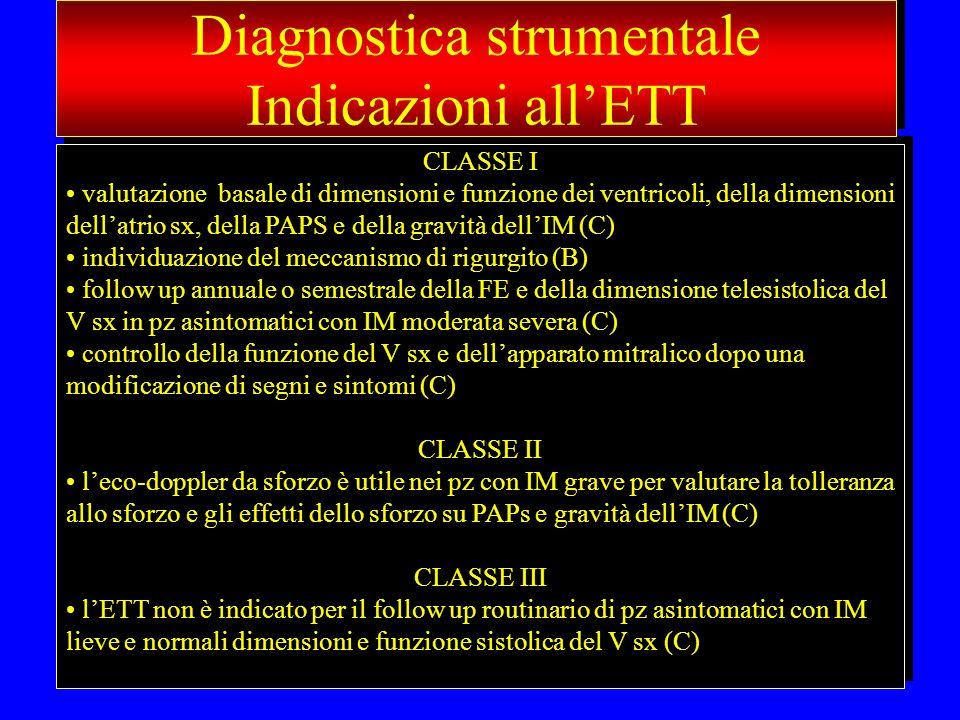 Diagnostica strumentale Indicazioni all'ETT