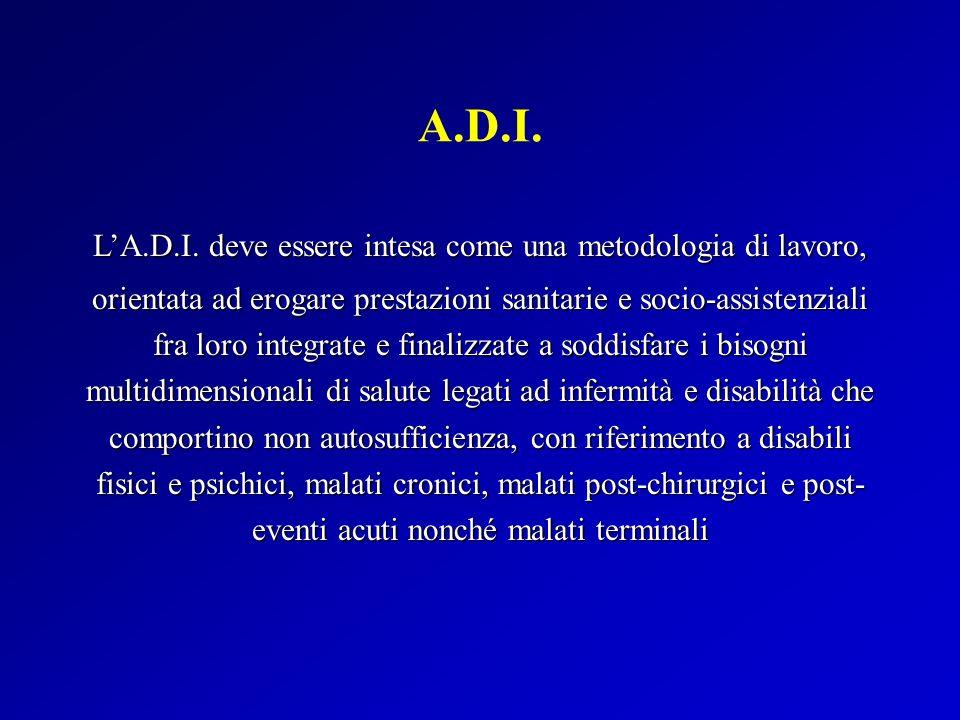 L'A.D.I. deve essere intesa come una metodologia di lavoro,