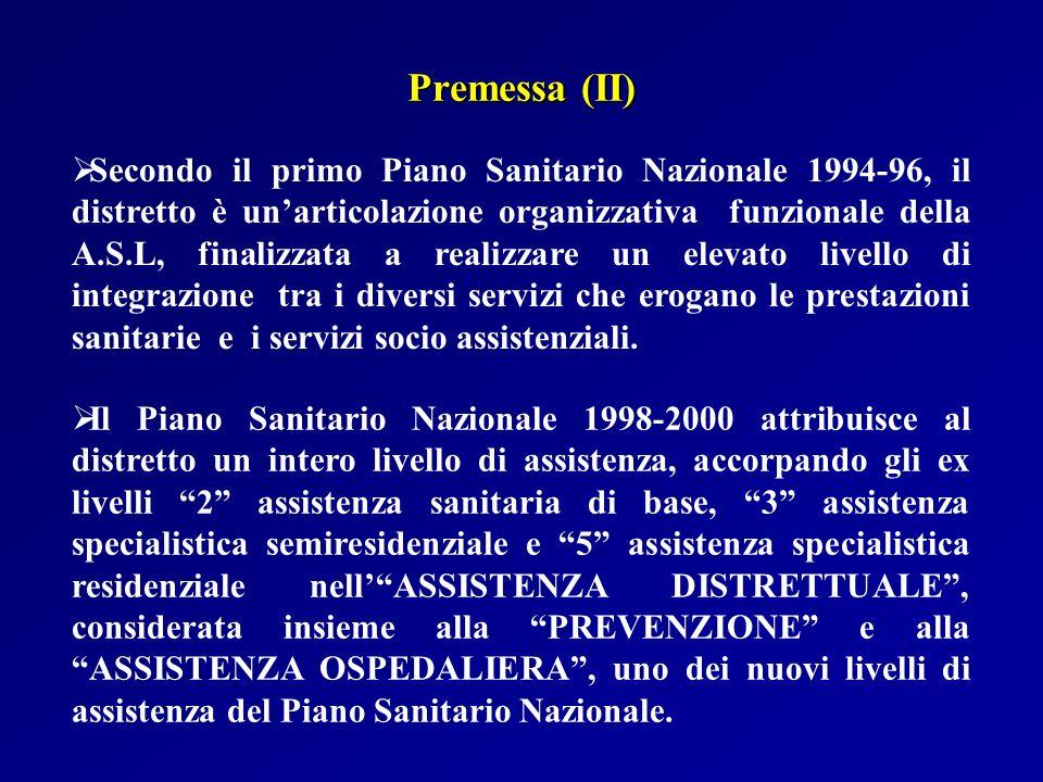 Premessa (II)