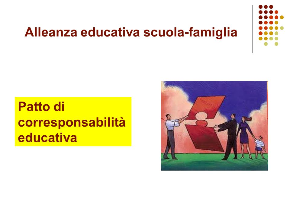 Alleanza educativa scuola-famiglia