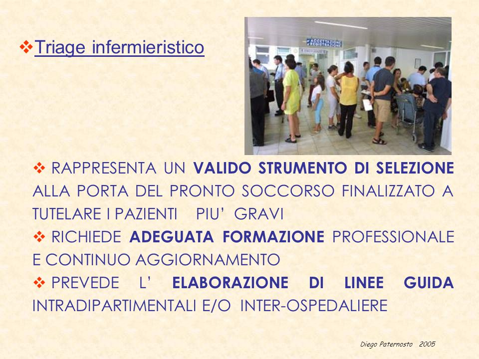 Triage infermieristico