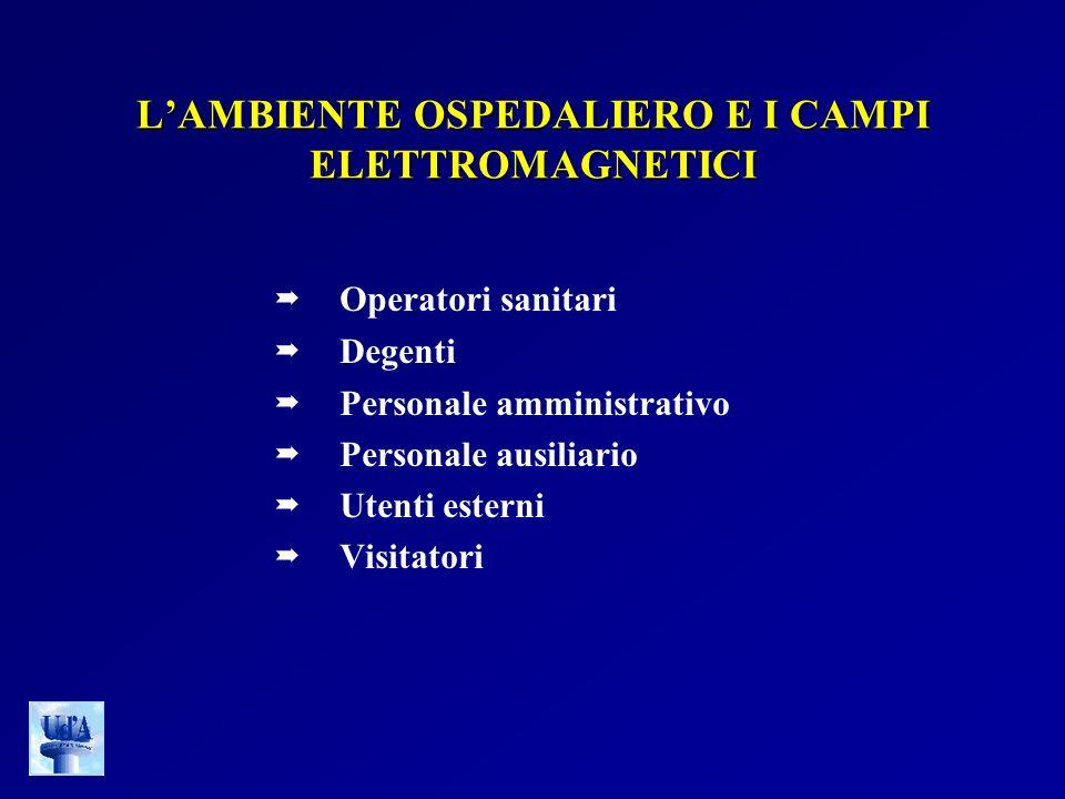 L'AMBIENTE OSPEDALIERO E I CAMPI ELETTROMAGNETICI