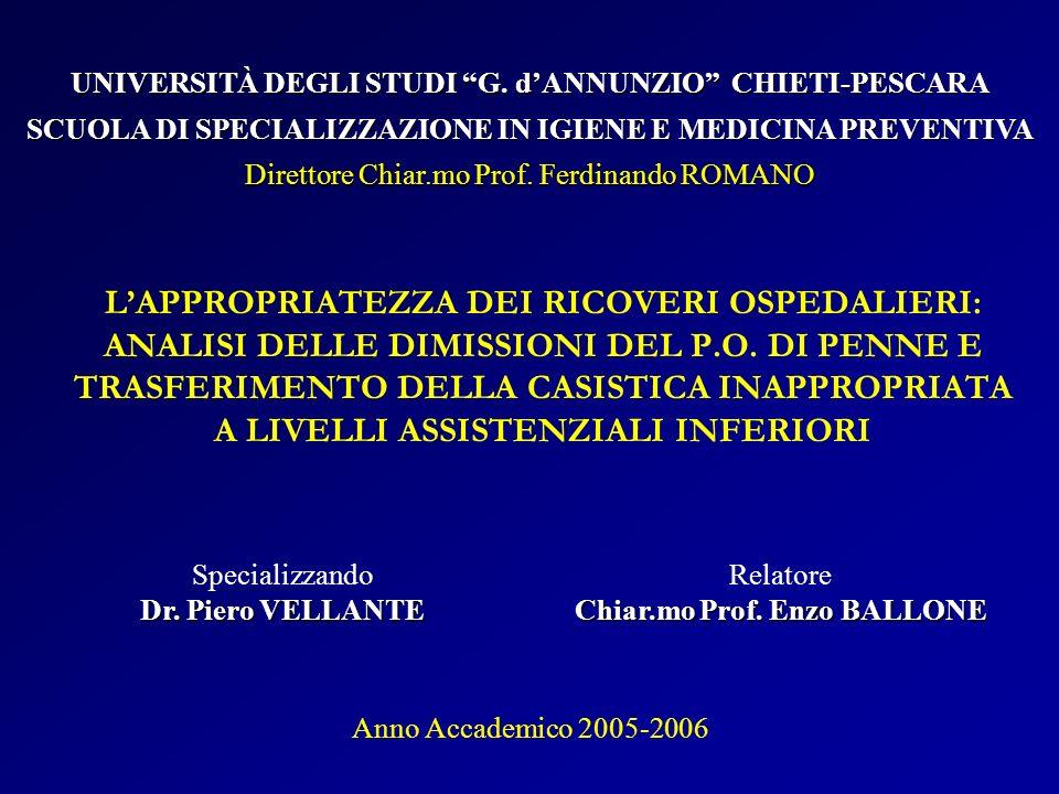 UNIVERSITÀ DEGLI STUDI G. d'ANNUNZIO CHIETI-PESCARA