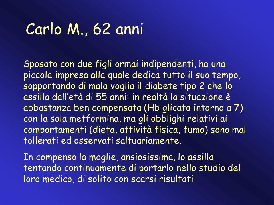 Carlo M., 62 anni
