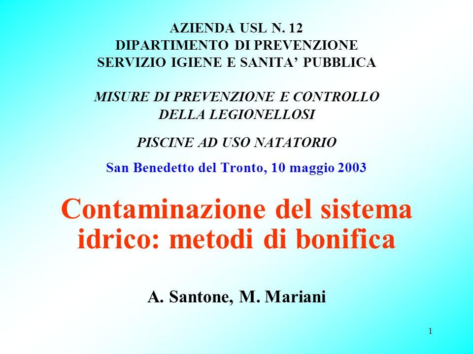 Contaminazione del sistema idrico: metodi di bonifica