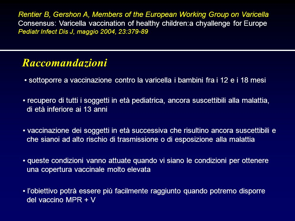 Rentier B, Gershon A, Members of the European Working Group on Varicella